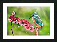 A Spring Friendship Picture Frame print
