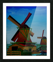 Catching The Wind Picture Frame print