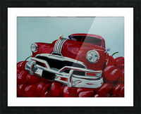 Cherry Ride Picture Frame print