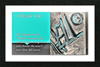 19.THANK YOU  4  Picture Frame print