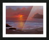 Blazing Skies Picture Frame print