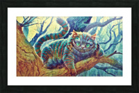 Cheshire Cat  Picture Frame print