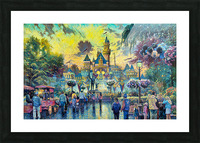 Day At Disney Picture Frame print