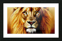 Majestic Beast  Picture Frame print