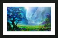 Blue Ravine Picture Frame print