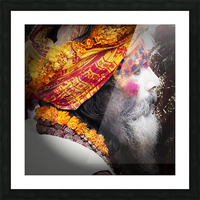 Priest India Picture Frame print