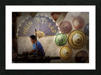 Umbrella maker Picture Frame print