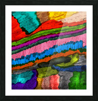 Abstract Art Picture Frame print