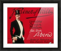 Prince of Wales Original Vintage Poster Picture Frame print