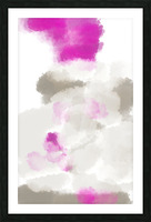 ABSTRACT PAINTING 03 Picture Frame print