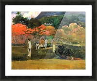 Women and Mold by Gauguin Picture Frame print
