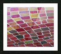 colorblocks Picture Frame print
