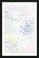 ABSTRACT PAINTING 40 Picture Frame print