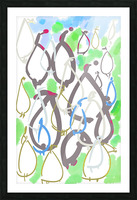 ABSTRACT PAINTING 88 Picture Frame print