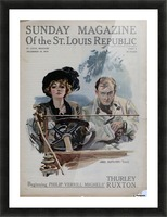 Sunday Magazine of the St Louis Republic Picture Frame print