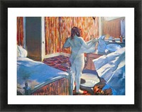Women at the toilet 3 by Degas Picture Frame print