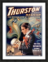 Thurston the Great Magician Vintage Poster Picture Frame print