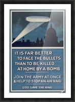 World War I poster Picture Frame print