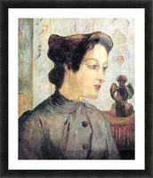 Women With Topknots by Gauguin Picture Frame print