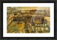 Workshop by Van Gogh Picture Frame print