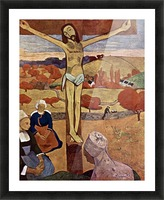 Yellow Christ by Gauguin Picture Frame print