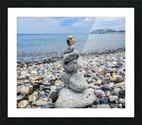 Llandundo beach Picture Frame print