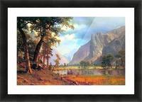 Yosemite Valley 2 by Bierstadt Picture Frame print