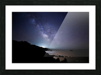 Midnight Horizons Picture Frame print