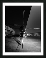 Turbo Prop Picture Frame print