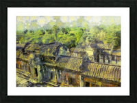 CAMBODIA 132 Angkor Wat  Siem Reap VincentHD Picture Frame print