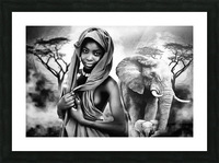 africa 2 Picture Frame print