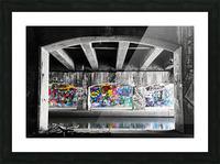 Graffiti Bridge Picture Frame print