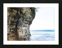 Land Meets Water Picture Frame print