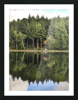 The Reflection Picture Frame print