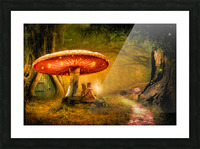 Fairy Ring Picture Frame print