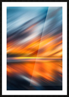 Abstract Movement XXXV Picture Frame print