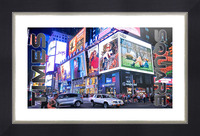 Times Square  Picture Frame print