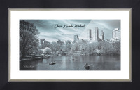 On The Lake Picture Frame print