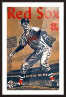 1960 Boston Red Sox Remix Art Picture Frame print