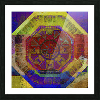 Aztec Dreaming Picture Frame print