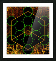Experiments with Geometry 3 Picture Frame print
