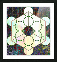 Experiments With Geometry 7 Picture Frame print