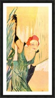 Yvette Guilbert greets the Audience by Toulouse-Lautrec Picture Frame print
