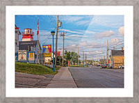 Cheticamp - Main Street Picture Frame print