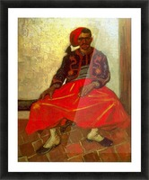 Zouave by Van Gogh Picture Frame print