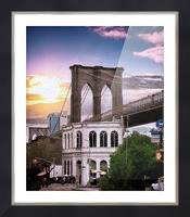 Dumbo Picture Frame print