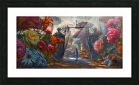 Flowers of Wonderland Picture Frame print