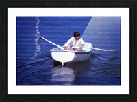Rower Picture Frame print