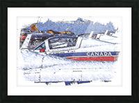 Canadian Snowbirds Picture Frame print