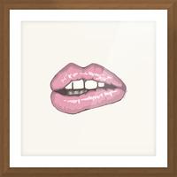 Kiss Me Picture Frame print